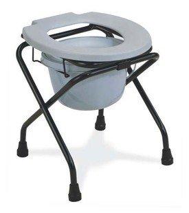 GAOFG water closet con una sedia pieghevole toilette portatile secchio Sedia WC