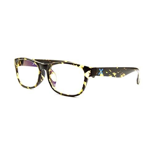 PIXEL LENS - BILDSCHIRMBRILLE Für PC, TV, Tablet, Smartphone, GAMING. Gegen Ermüdung der Augen, Gesteigerter Sehkomfort, Ultraleichtes Brillengestell STAHL-TR90, Zertifizierte Blaulichtreduzierun
