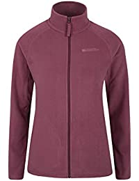 Mountain Warehouse Stylish Raso Womens Fleece – Lightweight Ladies Sweater, Quick Drying Spring Top, Warm, Soft & Smooth - Ideal for Travelling, Walking