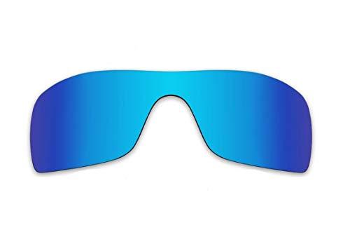 Polarisierte Ersatzgläser für Oakley Batwolf OO9101 Gr. 85, blau
