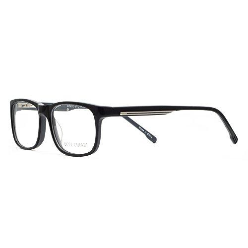 OCCI CHIARI Damen Sonnenbrille Optische Gläser Brillen Rahmen flexible ovale Windmühle Muster Metall Dekoration Brillen Rahmen