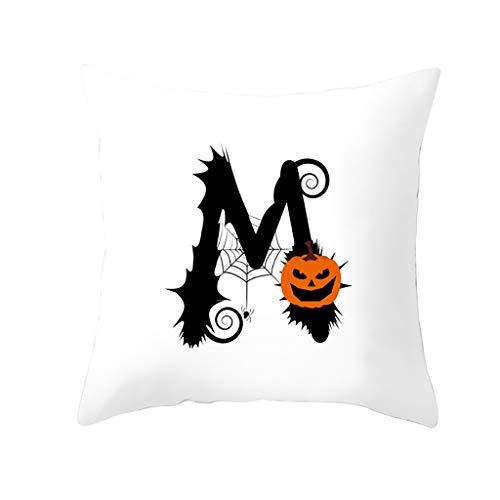 Werfen Ring Kostüm Herren - jieGREAT ❤❃ Räumungsverkauf❤❃ ,Halloween Kürbis werfen Kissenbezug Kissenbezüge dekorative Sofa Kissenbezug