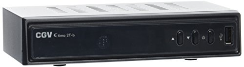 CGV ETIMO 2Tb Récepteur/Enregistreur TNT HD à double tuner Noir