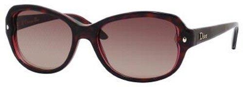 Preisvergleich Produktbild Dior Pondichery 2 XLY/D8 Écaille reflets rouges Verres dégradés