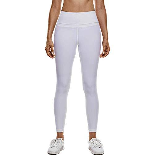 Sexy Bestes Geschenk für Frauen !!! Beisoug Frauen hohe Taille und enge Fitness Yoga Hose Nude versteckte Pocket Yoga ()
