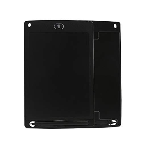 Yyz Heiße Verkaufsosion 8,5 Zoll helles LCD-Tablet LCD elektronische Tablet-Licht Energie kleine Tafel Kinder-Reizbrett Geburtstagsgeschenk,Black