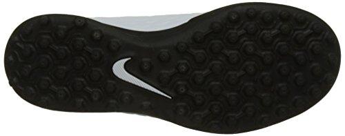 Nike Jr Hypervenomx Phade 3 Tf, Scarpe per Allenamento Calcio Unisex – Bambini vari colori (bianco/nero/blu) (White / Black / Photo Blue / Chlorine Blue)
