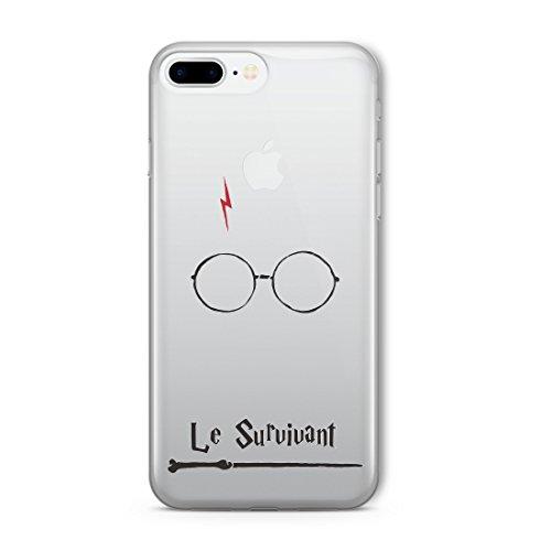 Personnage de film Harry Potter Citation de style CLEAR Flexible TPU Cover Case (The Boy Quote) iPhone 5c Qualité de protection mince Coque TRANSPARENT - Coque silicone souple au design original - coquille et pare-chocs d'une manière transparente et claire avec HD print - protège contre les rayures