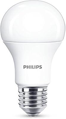 Philips 929001234901 - Bombilla LED estándar, casquillo E27, consume 13 W (equivalente a 100 W), no regulable,luz blanca fría