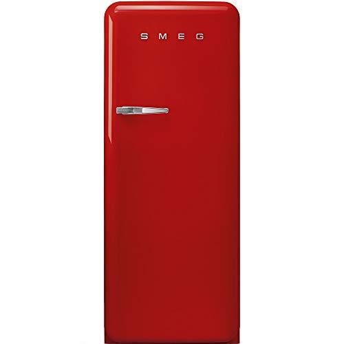 Smeg FAB28RRD3 frigo combine Autonome Rouge 270 L A+++ - Frigos combinés (Autonome, Rouge, Droite, 110°, Rotatif, 270 L)