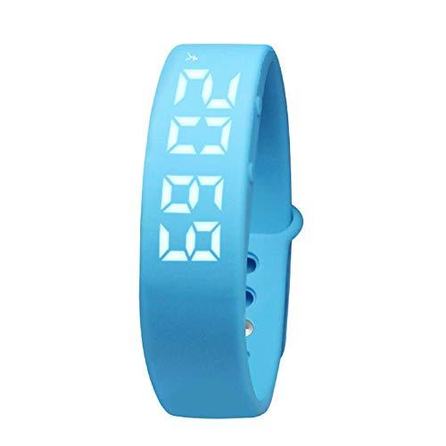 LRWEY Fitness Armband mit Pulsmesser, Sport-Schrittzähler Smart Bracelet Health Band Waterproof mit iOS Android Handy