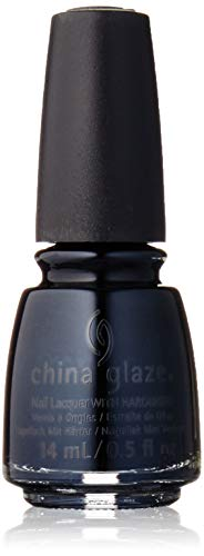 China Glaze Nail Lacquer with Hardner Lacquered Effect Liquid Leather, 1er Pack (1 x 14 ml) -