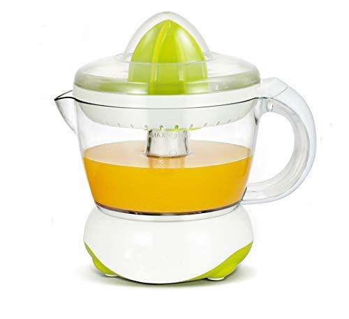 JUZEN Elektrische Zitruspresse, tragbarer Kleiner elektrischer Saft für Orangen, Zitronen, Grapefruits, einfach zu bedienen, leicht zu reinigen, grün