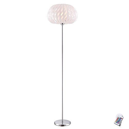 Steh Leuchte Fernbedienung Stand Lampe Decken Fluter Strahler im Set inklusive RGB LED Leuchtmittel
