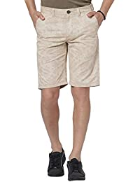 BUFFALO by FBB Men's Straight Fit Cotton Shorts