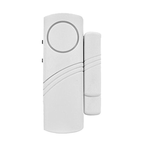 MagiDeal Wireless Magnetic Sensor Door/ Window Entry Safety Security Burglar Alarm Bell, Battery Powered  available at amazon for Rs.150