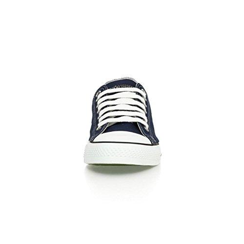 Ethletic Sneaker LoCut aus Bio-Baumwolle – ocean blue / white – fair trade & vegan - 6