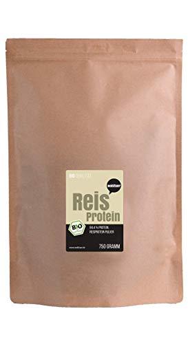 wohltuer bio reisprotein | sin gluten, libre de colesterol, nutrientes Reich | Low Carb Food | vegetariano eléctrica y Vegano) | versátil Alimentos en Nueva Bio de calidad