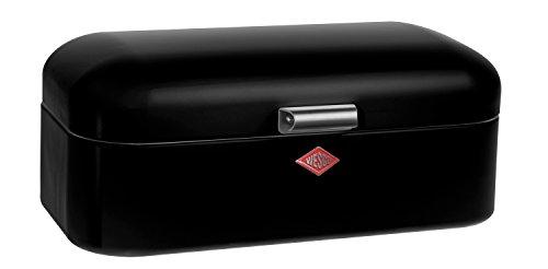 Wesco 235 201-62 Brotkasten Grandy, 42 x 23 x 17 cm, schwarz