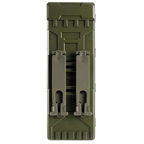 mmo Bag 10 Rounds 12GA 12 Gauge Ammo Shells Shotgun Reload Magazine Pouches Molle Box Carrier Holder (Green) ()
