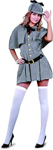 Damen Kostüm Detektiv - Kostüm Sherlock Holmes Frau - Mujer, M