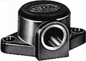 HELLA 8JB 004 123-002 Steckdose, Schraubkontakt mit Kunststoffgehäuse, Anbau, bei 24 V Belastung 16 A