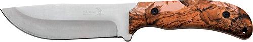 Elk Ridge Outdoormesser Hunter Brown camo gummierte Nylonfaser Griffausführung  , ER-543BC