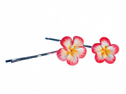 Blume 2er Set Haarspangen Spange Haar Miniblings Romantik Blumen Blüte Sommer