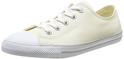 Converse  As Dainty Chambray,  Unisex Erwachsene Hohe Sneakers Beige (Écru)