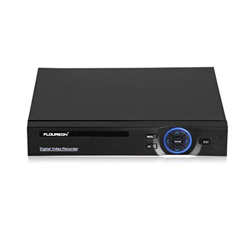 FLOUREON DVR Kit Videosorveglianza (8CH 1080N AHD HDMI DVR + 4 * 960P 2000TVL 1.3MP Telecamera Esterno), Backup USB, Allarme Email, Sistema di Sicurezza, Hard Disk Non Incluso - 5