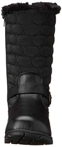 Stile Soft di Hush Puppies Pixie Doposci Black Vylon/Vitello