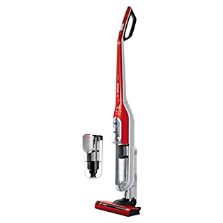 Bosch BCH6PETGB Athlet Animal Upright Cordless Vacuum Cleaner, 0.9 Litre, Tornado Red