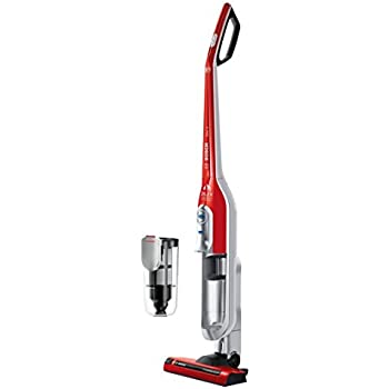 Bosch BCH6PETGB Athlet Animal Upright Cordless Vacuum Cleaner, 0.9 L - Tornado Red