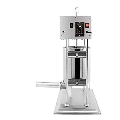 SucceBuy Machine à Saucisses Machine à Saucisses Electrique Poussoir Saucisse Poussoir Saucisse Professionnel Poussoir Saucisse Merguez Poussoir à Viande 10L