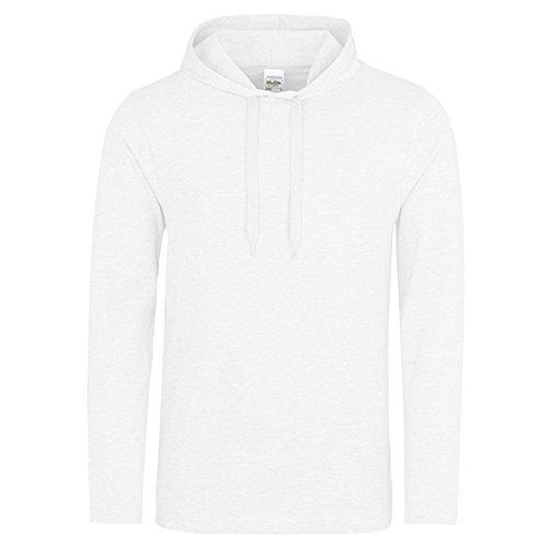 AWDis -  Felpa con cappuccio  - Uomo Arctic White