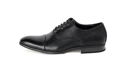 JAS Hommes Élégant Office Lacet Chaussures Mariage Italian Robe Travail Décontracté Habillé Taille UK Noir