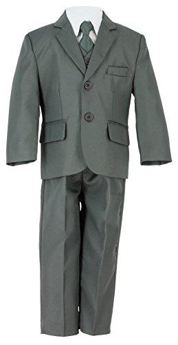 Kostüm Jungen Grau Komplett für Zeremonie oder Hochzeit-Produkt Gespeichert und verschickt Schnell seit Frankreich Gr. 10 Jahre, Grau