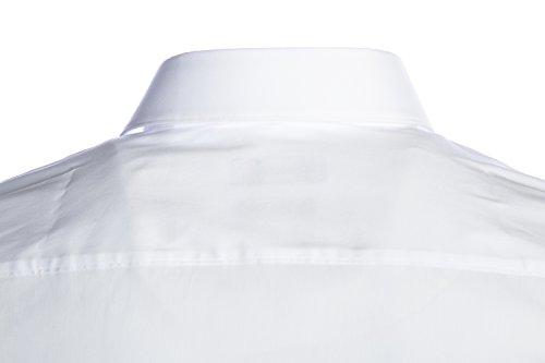 Hugo Boss -  Camicia classiche  - Classico  - Maniche lunghe  - Uomo White
