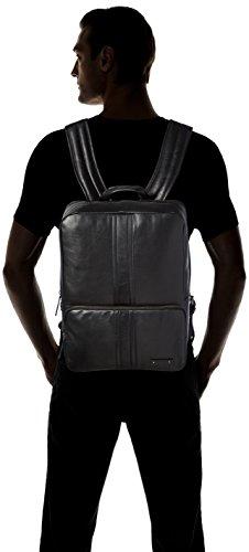 BREE Herren Gordon 3 Schultertasche, 40x13x30 cm Schwarz (Black)