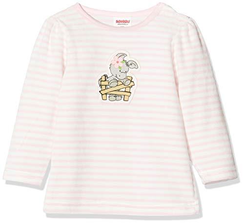 Schnizler Baby-Mädchen Sweat-Shirt Nicki Ringel Esel Sweatshirt, Rosa (Rosa 14), (Herstellergröße: 56)