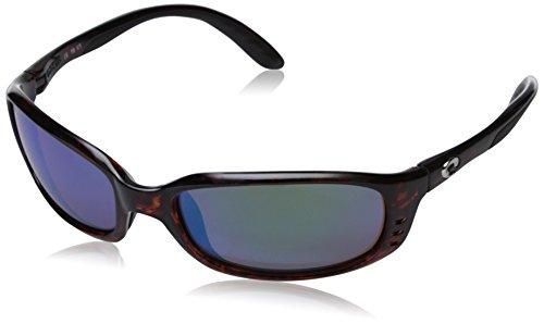 Costa Del Mar New Sole BR 10Tortoise Sonnenbrille für Herren grün Frame: Tortoise/Lens: Green Mirror 580G