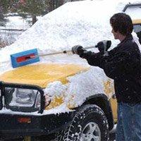Sno Brum Original Snow Removal Tool with Telescoping Handle-2
