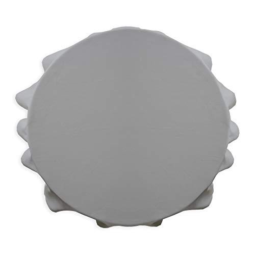 d 180Chantilly Polyester 180x 180cm, Polyester, Grau (zinc), 180x180 cm ()