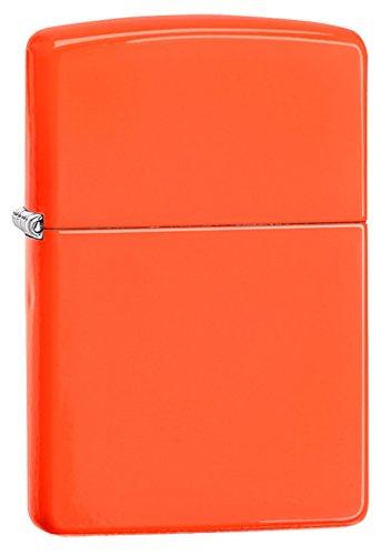 zippo-classic-lighter-neon-orange-windproof
