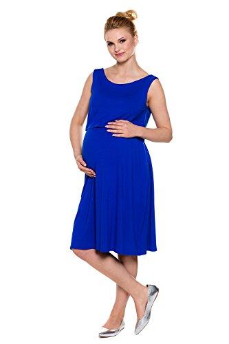 My Tummy Mutterschafts Kleid Stillkleid Andie Kobalt Blau XL (X-large)