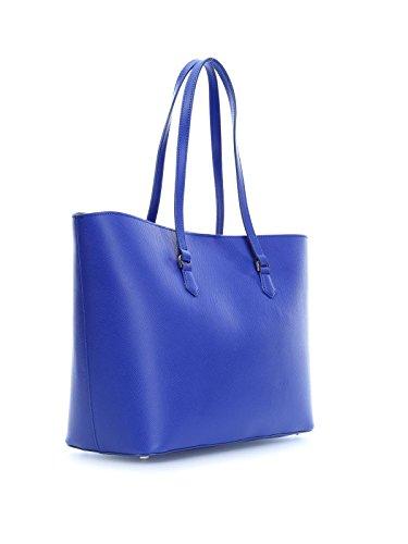 Patrizia Pepe Candy Cadillac sac fourre-tout cuir 36 cm blau