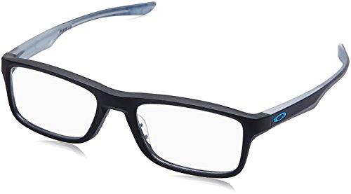 Ray-Ban Unisex-Erwachsene 0OX8081 Brillengestelle, Blau (Satin Black), 51