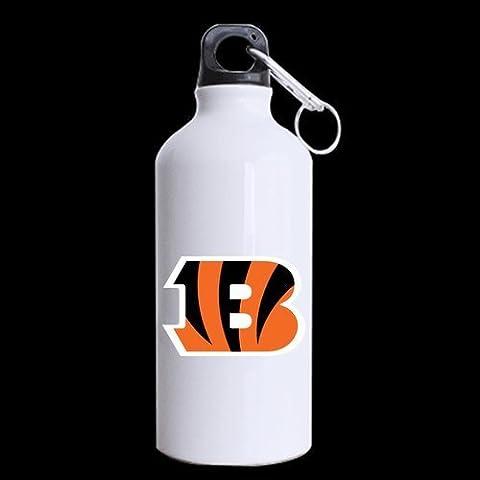 Cincinnati Bengals Logo Custom Design Travel Water Bottle Hiking Tea Cup Coffee Mug 13.5 OZ