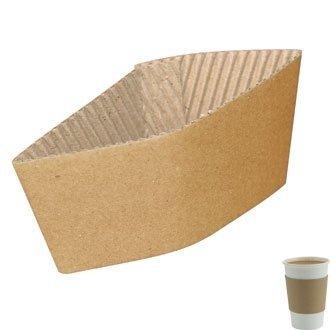 jetable Tasse à café Manches/Col pour 12 et 453,6 Gram Tasse (Pack 2000) - idéal pour Les fêtes, Les barbecues, Les Pique-niques et Les événements