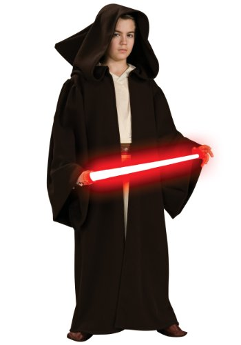 Sith Kostüm Deluxe Robe Wars Star - Rubie s Kost-m &Apos; Co 33131 Star Wars Deluxe Sith Robe Kinderkost-m Gr--e Medium-Boys 8-10